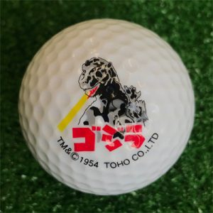 ゴジラゴルフボール2