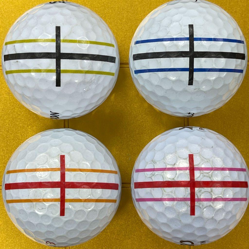 ゴルフボール印刷強度テスト2回目