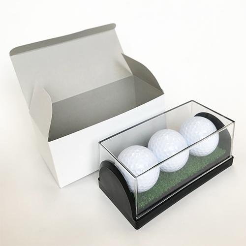 名入れゴルフボール専用3個入りディスプレイケース画像