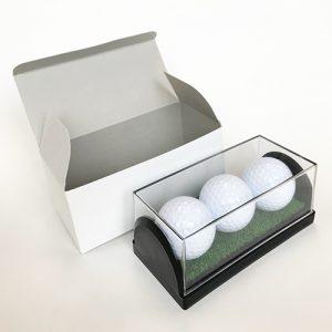 ゴルフボールケース3個入り