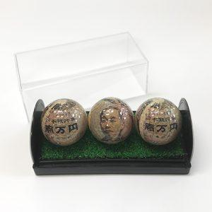 1万円札ゴルフボール画像