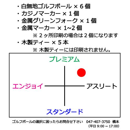 ゴルフボールギフトセットMF タイトリストPRO V1Xの商品説明