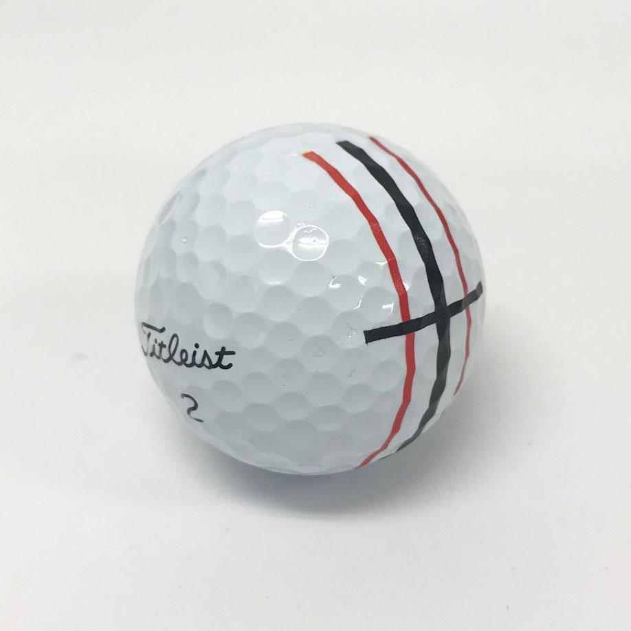 パッティングラインプリントゴルフボール画像2