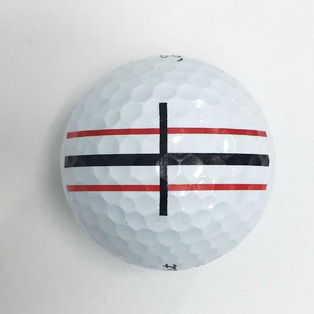 パッティングラインプリントゴルフボール画像1