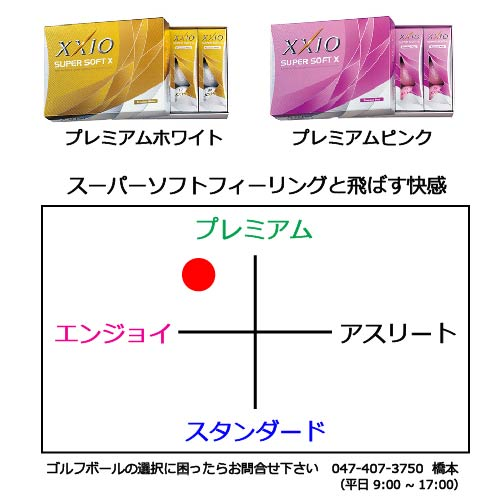 ゼクシオスーパーソフトXの商品説明