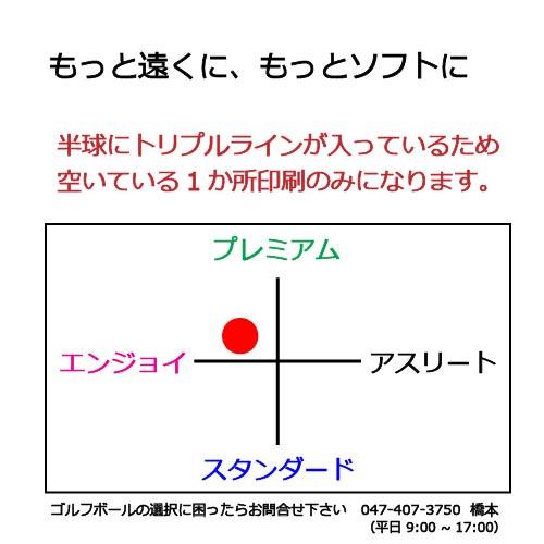 キャロウェイ E・R・Cソフトゴルフボールの商品説明