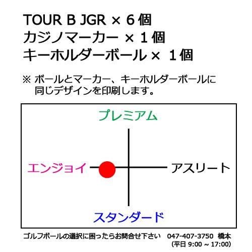 ゴルフボールギフトセットKブリヂストン TOUR B JGRの商品説明