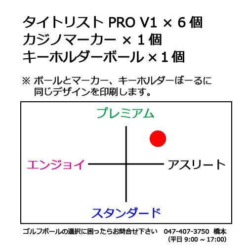 ゴルフボールギフトセットK(タイトリストPROV1)の商品説明