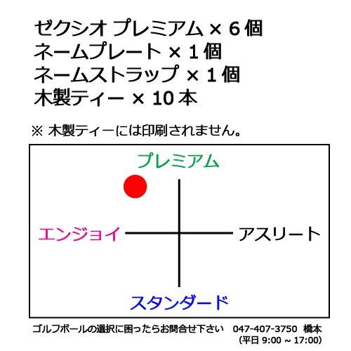 ゴルフボールギフトセットN ゼクシオプレミアムの商品説明