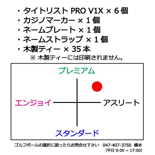 ゴルフボールギフトセットSP タイトリストPROV1の商品説明