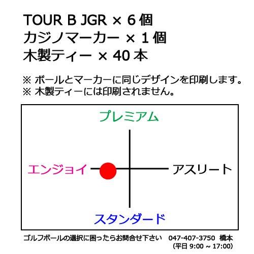 ゴルフボールギフトセットT ブリヂストン TOUR B JGRの商品説明
