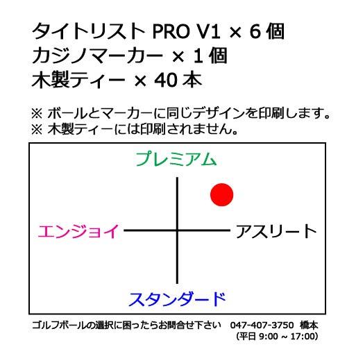 ゴルフボールギフトセットTタイトリスト PRO V1の商品説明