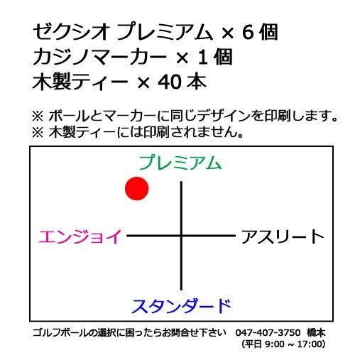ゴルフボールギフトセットTゼクシオプレミアムの商品説明