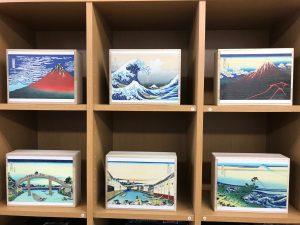 浮世絵桐箱3